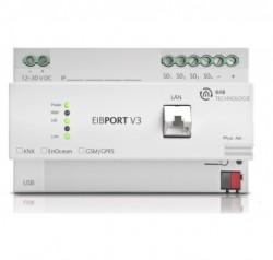 Servidor web EibPort  LAN knx, DIN