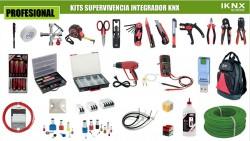 Kit Profesional supervivencia integrador KNX